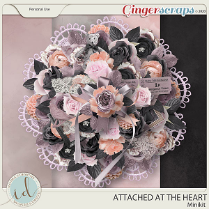 Attached At The Heart Minikit by Ilonka's Designs