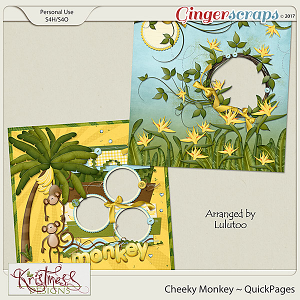 Cheeky Monkey QuickPages