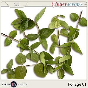 Foliage 01 by Karen Schulz