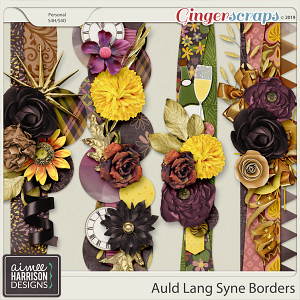 Auld Lang Syne Borders by Aimee Harrison