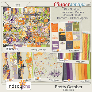Pretty October Collection by Lindsay Jane