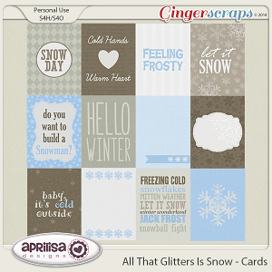 All That Glitters Is Snow - Cards
