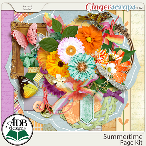 Summertime Page Kit by ADB Designs