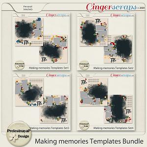 Making memories Templates Bundle