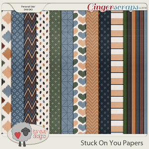 Stuck On You Papers by Luv Ewe Designs
