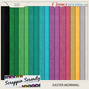 Easter Morning Cardstocks and Shimmer Papers