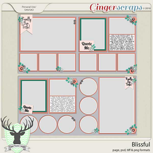 Blissful by Dear Friends Designs