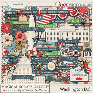 Washington DC (page kit)
