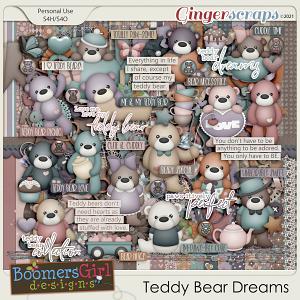 Teddy Bear Dreams by BoomersGirl Designs
