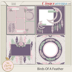 The Cherry On Top Birds Of A Feather Templates