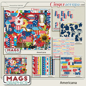 Americana BUNDLE by MagsGraphics