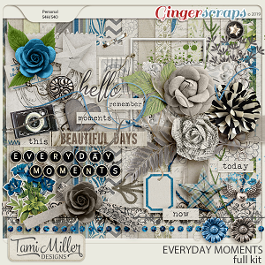 Everyday Moments Full Kit by Tami Miller Designs