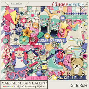Girls Rule (page kit)