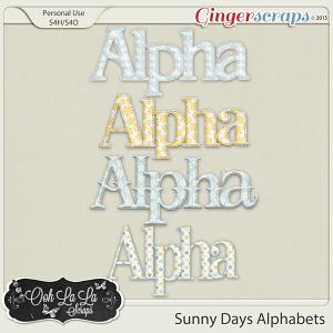Sunny Days Alphabets