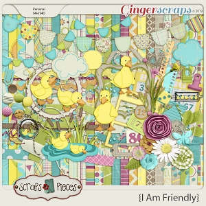 I am Friendly Bundle by Scraps N Pieces