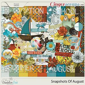 Snapshots Of August by Dandelion Dust Designs