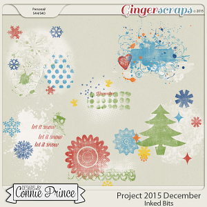 Project 2015 December - Inked Bits