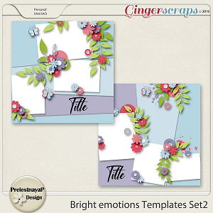 Bright emotions Templates Set2