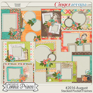 #2016 August - Stacked Pocket Frames