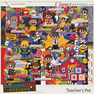 Teacher's Pet by BoomersGirl Designs