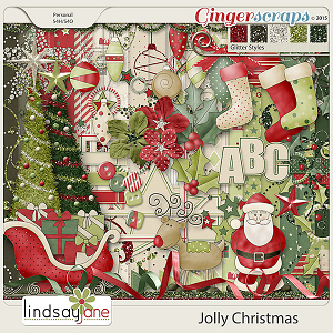 Jolly Christmas by Lindsay Jane