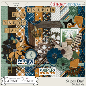 Super Dad - Kit by Connie Prince