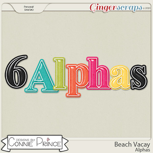 Beach Vacay - Alpha Pack AddOn by Connie Prince