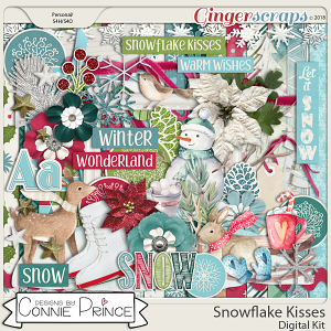 Snowflake Kisses - Kit by Connie Prince