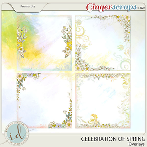 Celebration Of Spring Overlays by Ilonka's Designs