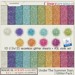 Under The Summer Stars (glitter pack)
