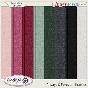 Always And Forever - Krafties by Aprilisa Designs