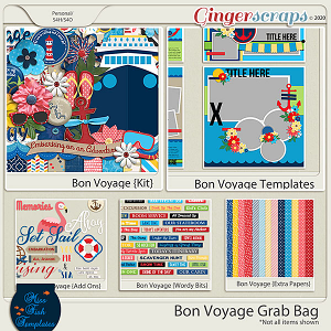 Bon Voyage Grab Bag by Miss Fish