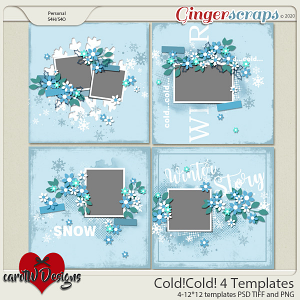 Cold!Cold! 4 Templates by CarolW Designs
