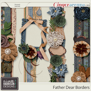 Father Dear Borders by Aimee Harrison