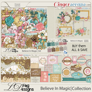 Believe In Magic: The Collection by LDragDesigns