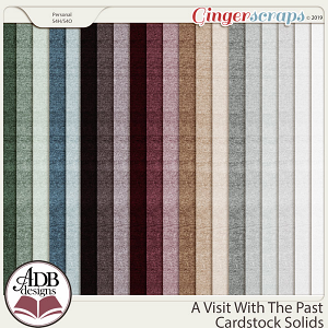 A Visit With The Past Cardstock Solids by ADB Designs
