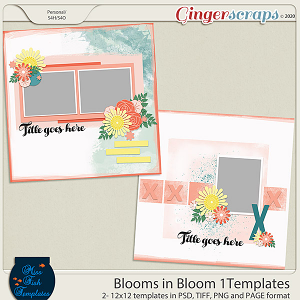 Blooms in Blooms 1 Templates by Miss Fish