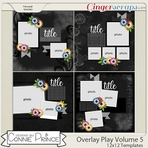 Overlay Play Volume 5 - 12x12 Temps (CU Ok) by Connie Prince