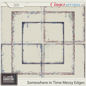 Somewhere in Time Messy Edges by Aimee Harrison