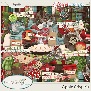 Apple Crisp Page Kit