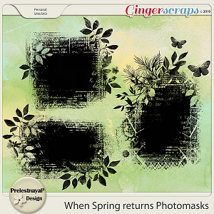 When Spring returns Masks