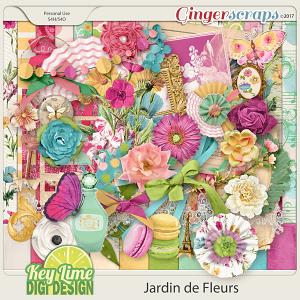 Jardin de Fleurs by Key Lime Digi Design