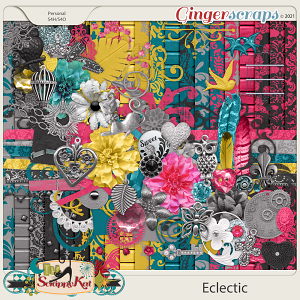 Eclectic by The Scrappy Kat