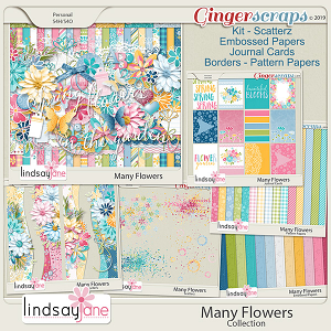 Many Flowers Collection by Lindsay Jane