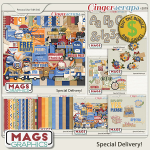 Special Delivery BUNDLE by MagsGraphics