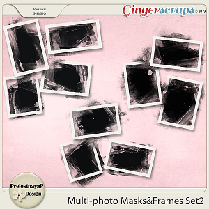 Multi-photo Masks&Frames Set2