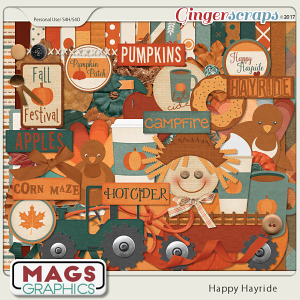 Happy Hayride KIT by MagsGraphics