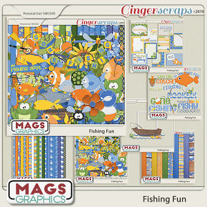 Fishing Fun BUNDLE by MagsGraphics