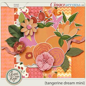 Tangerine Dream Mini by Chere Kaye Designs