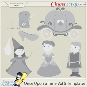 Doodles By Americo: Once Upon a Time Vol 5 Templates